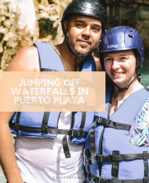 Video: Jumping Off Waterfalls in Puerto Plata